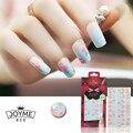 Marca 20 unids Flor 3d Nail Stickers Colorful Urdimbres Tiras de Clavos Consejos UV Nail Art Decoración Tatuajes de Manicura de Uñas Accesorios nueva