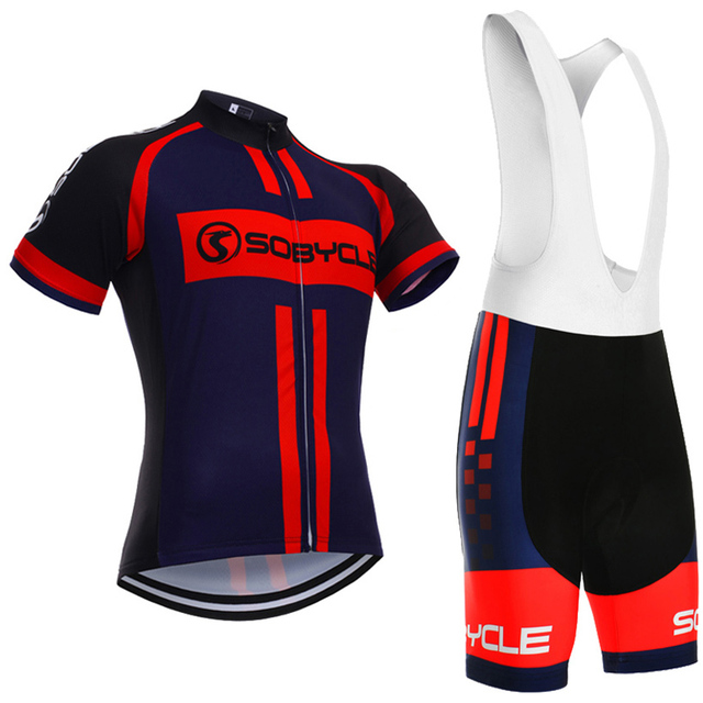 2018 Brand sobycle Blue Cross team cycling Jersey 9D gel pad bike shorts  set Ropa Ciclismo quick dry bicycling Maillots Culotte b318191a6