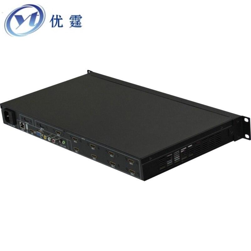 YOUTING YT-BOX2X5 Video Wall Controller3x3 HDMI VGA AV USB Processor 2x5 TEN images stitching image processor 10TV 1080p60HZ