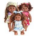 28 cm Bonito Lifelike Boneca Reborn Vinil Silicone Macio Acompanhar de Som Falando Boneca de Brinquedo Bonito Do Bebê Recém-nascido Brinquedo 319 P