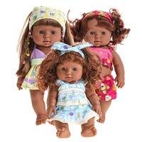 28 cm bonito lifelike reborn baby doll vinil macio silicone acompanhar de som falando boneca de brinquedo bonito do bebê recém-nascido brinquedo 319 p