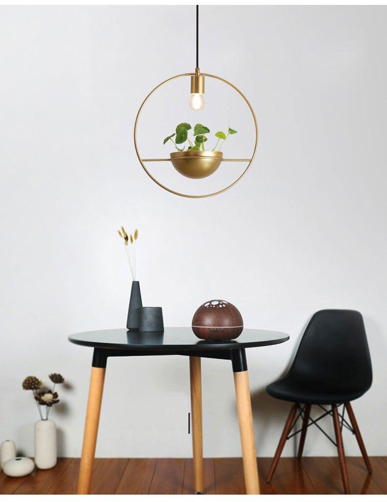 北欧餐厅灯简约创意个性吧台单头床头奶茶店服装店小吊灯植物灯具-tmall_04