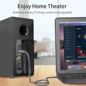 Image 3 - Essager RCA אודיו כבל שקע 3.5 כדי 2 RCA כבל 3.5mm שקע כדי 2RCA זכר ספליטר Aux כבל עבור טלוויזיה מחשב מגברי DVD רמקול חוט