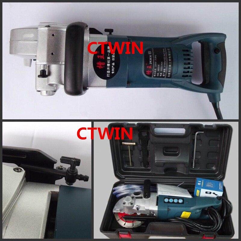 156 mm-es többfunkciós falhorony-vágógép 4800W-os - Csiszolószerszámok - Fénykép 2