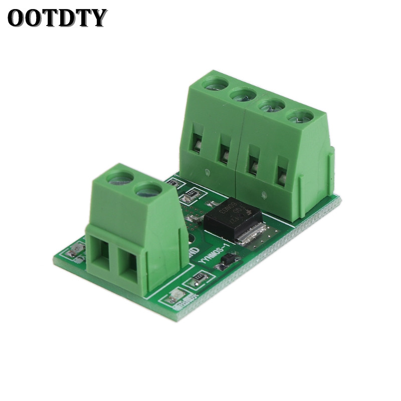 OOTDTY Mosfet MOS Optocoupler Isolation Driver Module Field Effect Transistor Trigger Switch PWM Control Board 3-20V