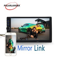 Mirror Link 7 inch HD LCD Touch Screen Car Radio Player BLUETOOTH Hands Free 1080P Movie