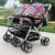 Luxo Carrinhos de Bebê Gêmeos, Dobrável Carrinho de Bebé Carrinhos de Casal, Carrinho de Bebê Carrinho De Criança Dormindo, Preço Barato Bbay Infantil Carrinho De Criança carrinho