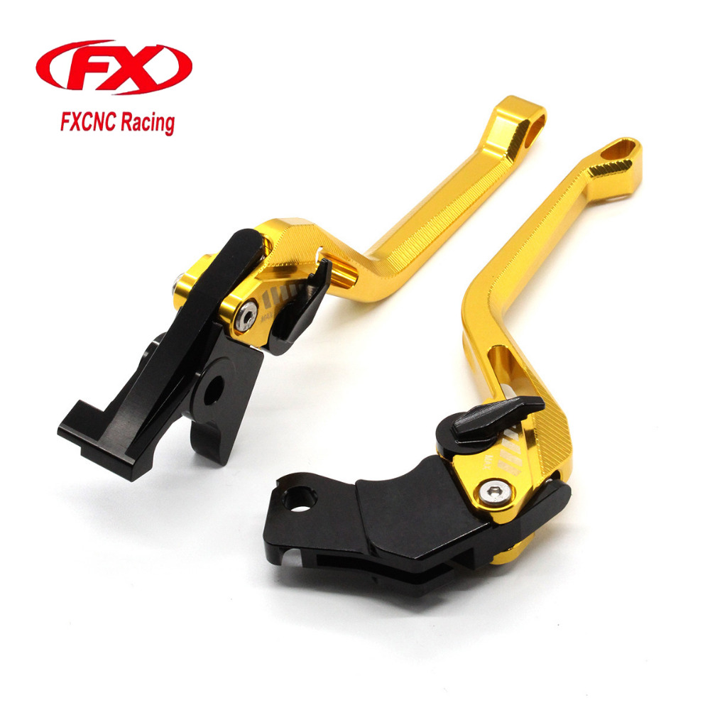 FXCNC 3D New Rhombus Adjustable Motorcycle Brake Clutch Lever For YAMAHA YBR250 FAZER 2007 - 2012 YBR 125 2005 - 2010 Moto Lever fxcnc universal stunt clutch easy pull cable system motorcycles motocross for yamaha yz250 125 yz80 yz450fx wr250f wr426f wr450