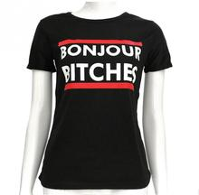 new plus size o-neck women clothing t shirt hello bitches print short-sleeved t-shirt women summer top roupas femininas 2017