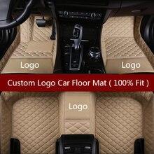 Flash mat логотип автомобиля коврики в салон для Линкольн все