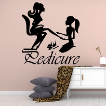 Cartoon Style Manicure Wall Stickers Animal Lover Home Decoration Accessories For Kids Rooms Home Decor Wall Decal Home Decor beauty journey begain single stepwall stickers animal lover home decoration accessories for kids rooms home decor muursticker