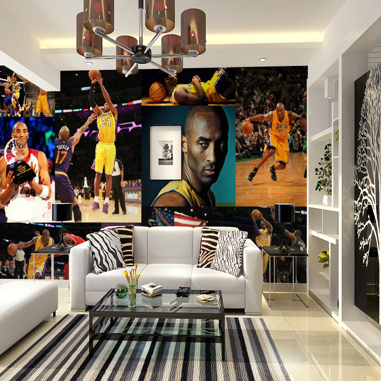 Popular sport clothing stores buy cheap sport clothing for Basketball mural wallpaper