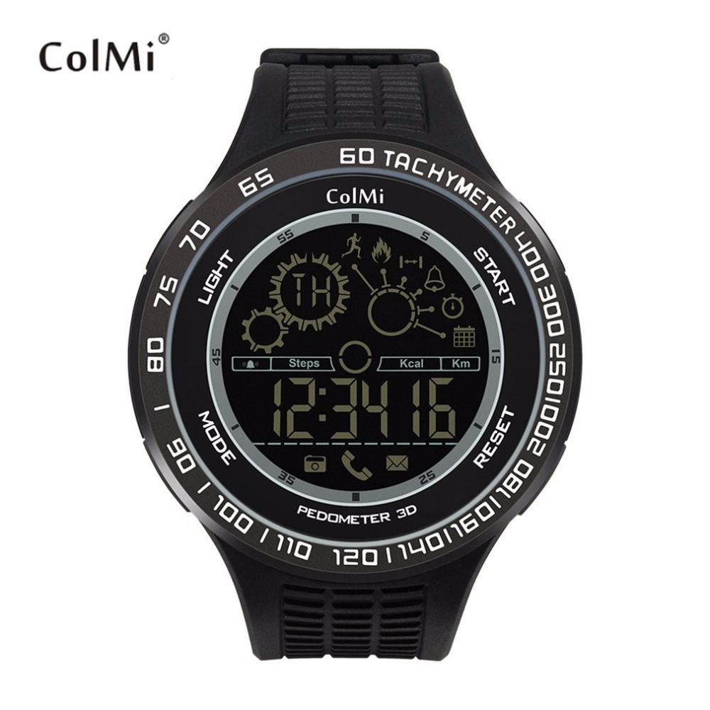 ColMi King Kong Sport Smart Watch Waterproof Passometer Motion Monitor Ultra-long Standby Smartwatch For Android For iOS