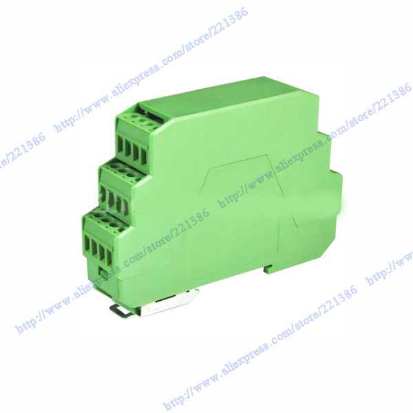Three level green plastic electronics enclosure Component housing ...