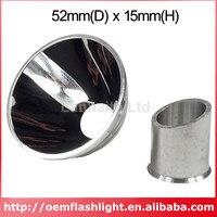 Reflektor aluminiowy M * g SMO Cam/Camless (52mm x 15mm) w Akcesoria do przenośnych lamp od Lampy i oświetlenie na
