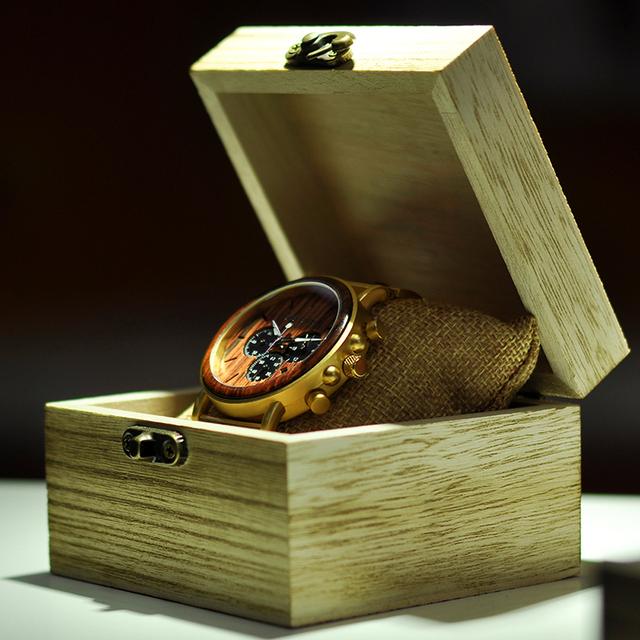 Luxury Brand Wooden Wristwatches