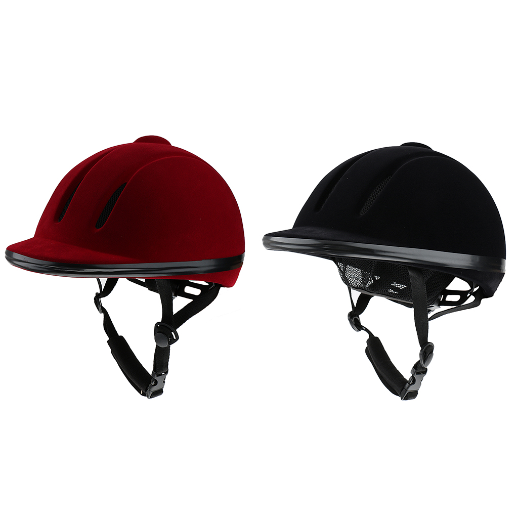 Vented Western Riding Helmet Safety Low Profile Equestrian Headwear Plasic Horse Helmet Sports Safety Accessory Protecting Head child women men horse riding helmet breathable ce safety half cover horse rider helmets equestrian helmet