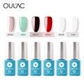 6 ШТ. 100% Подлинная Oulac Private Label Гель Для Ногтей Nail Art Дизайн