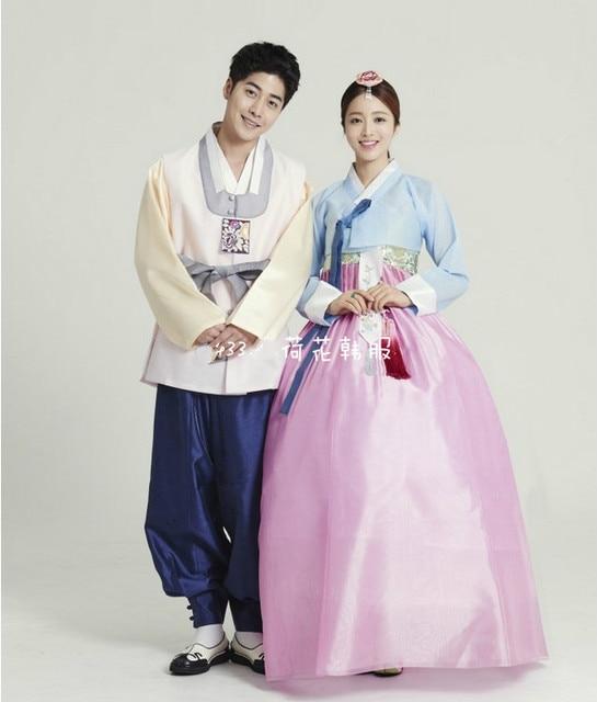 b44b95751 Premium Korean Hanbok Custom Made Woman Traditional Hanbok Dress Man Hanbok  Bride Groom Wedding Party Dress Stage Costumes