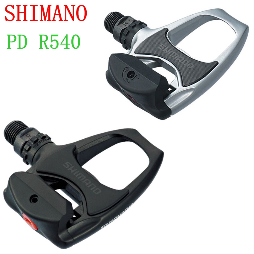 d88e50253 Shimano Road Bike Pedals PD R540 Self-Locking SPD pedal with SH11 Cycling  Components Using
