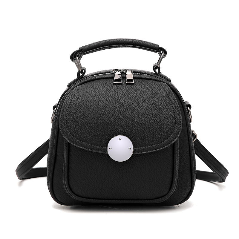 2017 New Summer Mini Backpack for Women Backpacks  Leather Shoulder Bags For Teenager Girls Bag Zipper Hasp Tote Bag