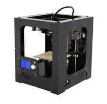The new metal high-precision intelligent home 3D printer three-dimensional toy model DIY printer whole machine 150*150*150 cheap Micromake
