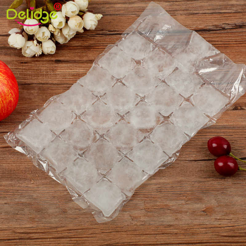 10 Pcs/pack Cooler Bags Disposable Ice Bag Cold Pack Eco-Friendly Backpack Thermal Portable Refrigerator Cooler Pouch Accessory