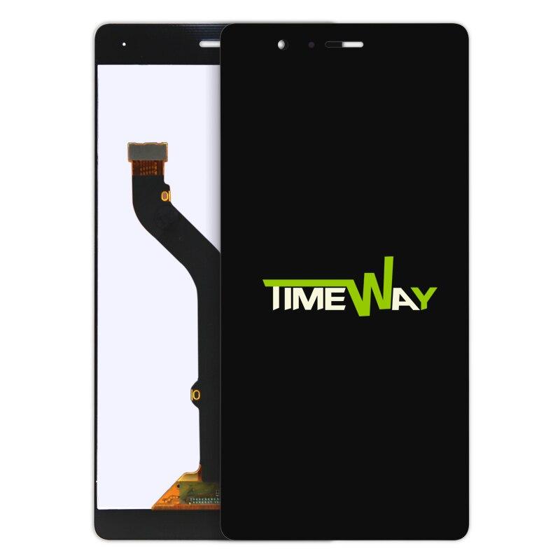 10 unids p9 lite lcd display + touch screen reemplazo digitalizador para huawei