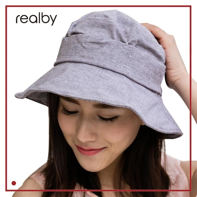 e1ac450ce37 REALBY Summer sun hats Vintage Bow Summer Hats For Women Sun Visor Beach  Hat Caps Casual Travel bucket hat Chapeau Femme Gorras