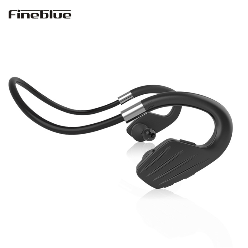 Fineblue M1 Bluetooth Earphones Wireless Sports Running Stereo Headset With Microphone Handsfree Earpieces For iPhone 6/7 Xiaomi s9 original sport wireless bluetooth headset handsfree earphones running stereo headphones for iphone xiaomi huawei 6 7 earphone