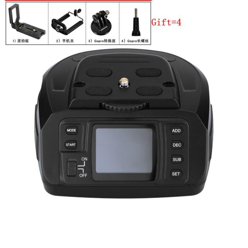 где купить AD-10 Electronic 360 Degree Automatic Panoramic Tripod Head Motorized Tripod Ballhead for Canon Nikon Sony Pentax DSLR Cameras дешево