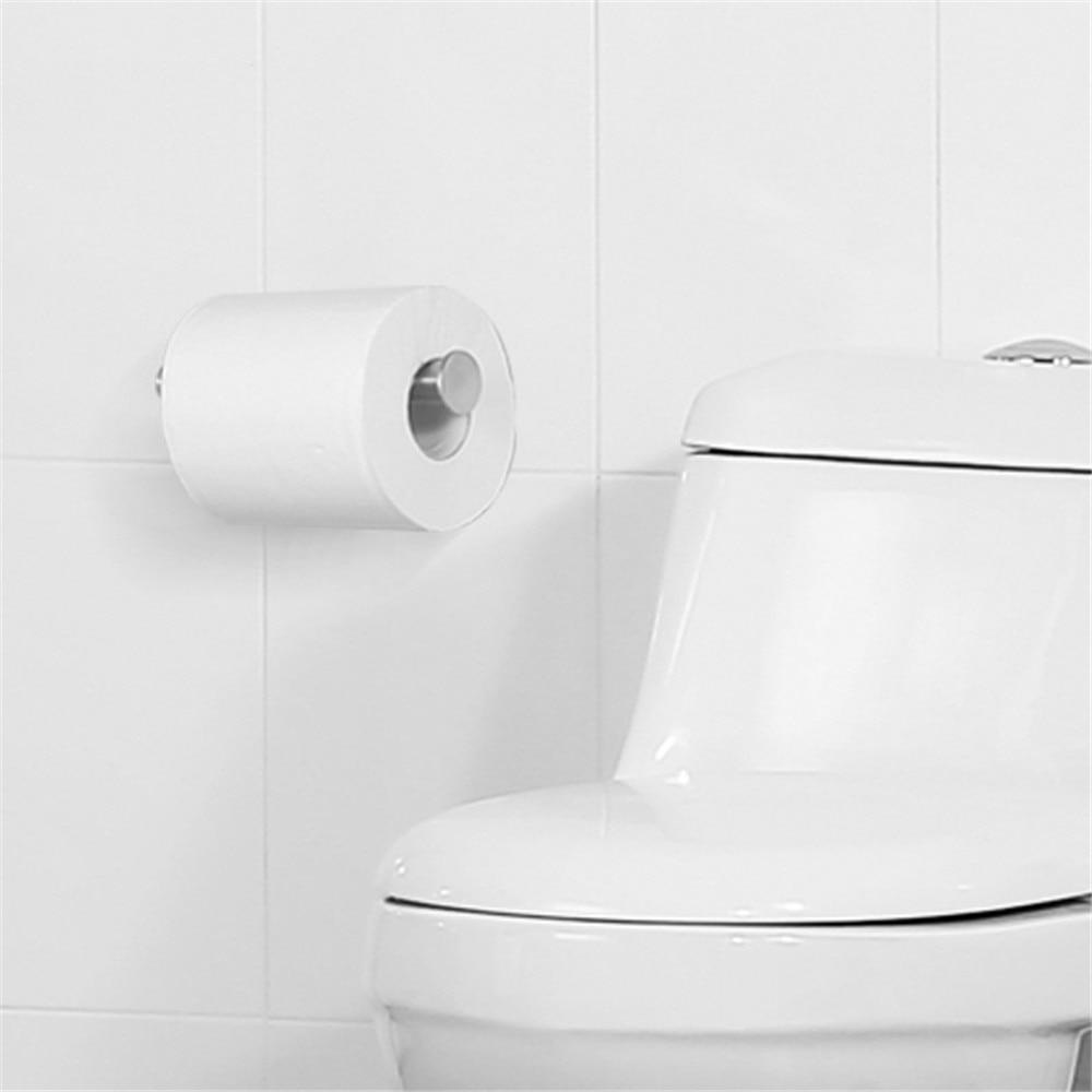 Bathroom accessories 304 stainless steel toilet paper holder simple ...