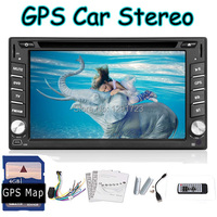 Universal 6,2 ''doppel 2 din Autoradio GPS Navigation Auto Audio stereo DVD CD mp3 Player Aux + iPod + TV + usb/sd (Android Optional)