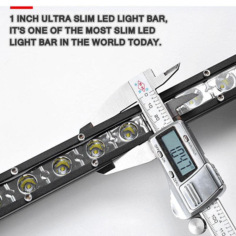 super slim single row led light bar (2)