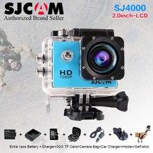 Оригинал SJCAM SJ4000 Экстрим Действий Шлем Спорта Камера 1080 P SJ 4000 Дайвинг 30 М Водонепроницаемый мини DVR Full HD DV Действие камера