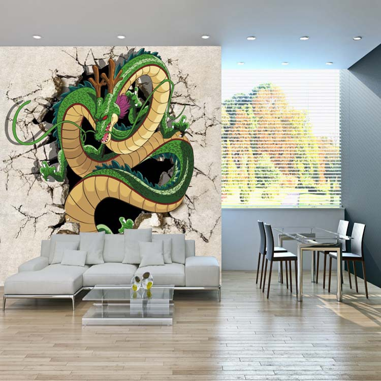 3D Dragon Photo Wallpaper Dragon Ball Wallpaper Custom Japanese