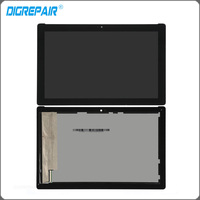 Black White For ASUS Zenpad 10 Z300 LCD Display Panel Touch Screen Digitizer Assembly Replacement Parts