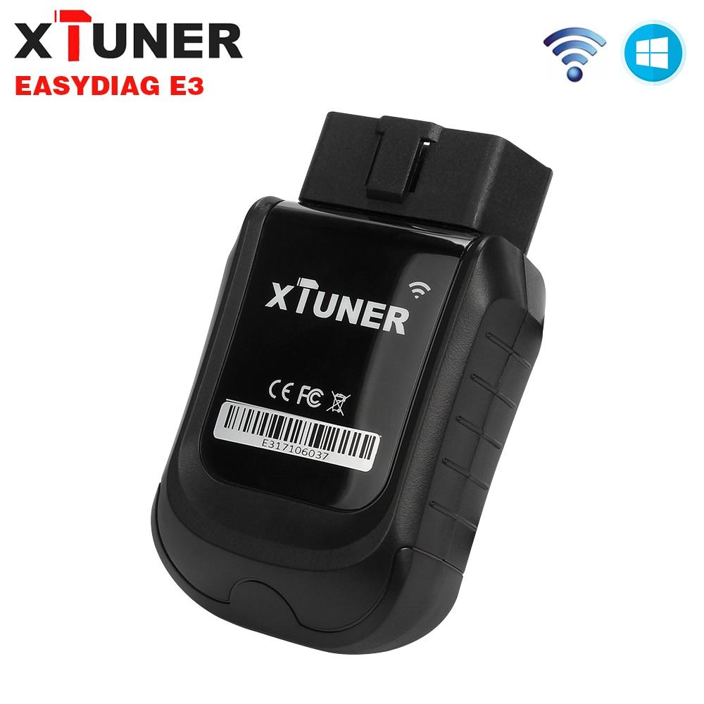 2018 XTUNER E3 OBD2 Wifi Completa do Carro Sistemas De Atualização de Software Easydiag Ferramenta Gratuita de Diagnóstico Do Carro 3.0 Auto ODB 2 Automotivo scanner