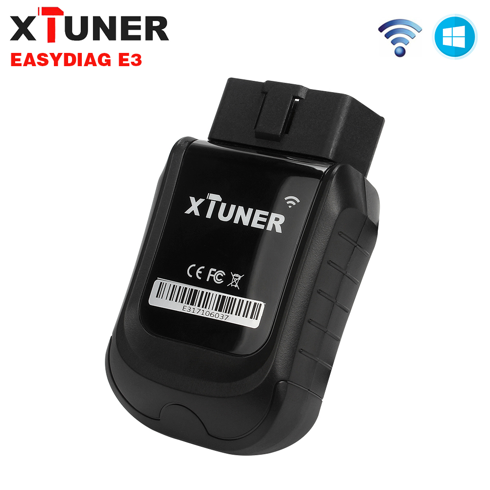 2018 XTUNER E3 OBD2 Wifi Volle Systeme Auto Diagnose Werkzeug Kostenloser Auto Software Update Easydiag 3,0 Auto ODB 2 Automotive scanner