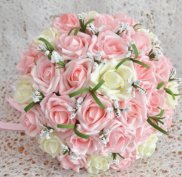 Лучший букет для невесты из искусственных цветов алматы