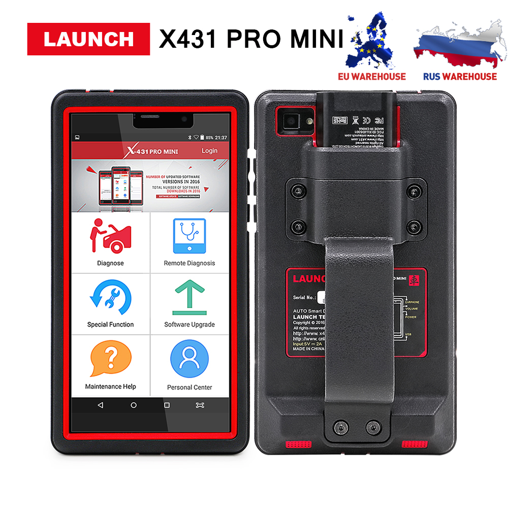 Launch X431 Pro Mini Auto Diagnostic Tool Support WiFi/Bluetooth Full Systems X431 Pro pros mini Scanner 2 years free update