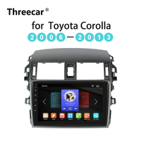 Car Radio Multimedia Video Player Mirror Link Capacitive touch screen For Toyota Corolla E140/150 2008 2009 2010 2011 2012 2013