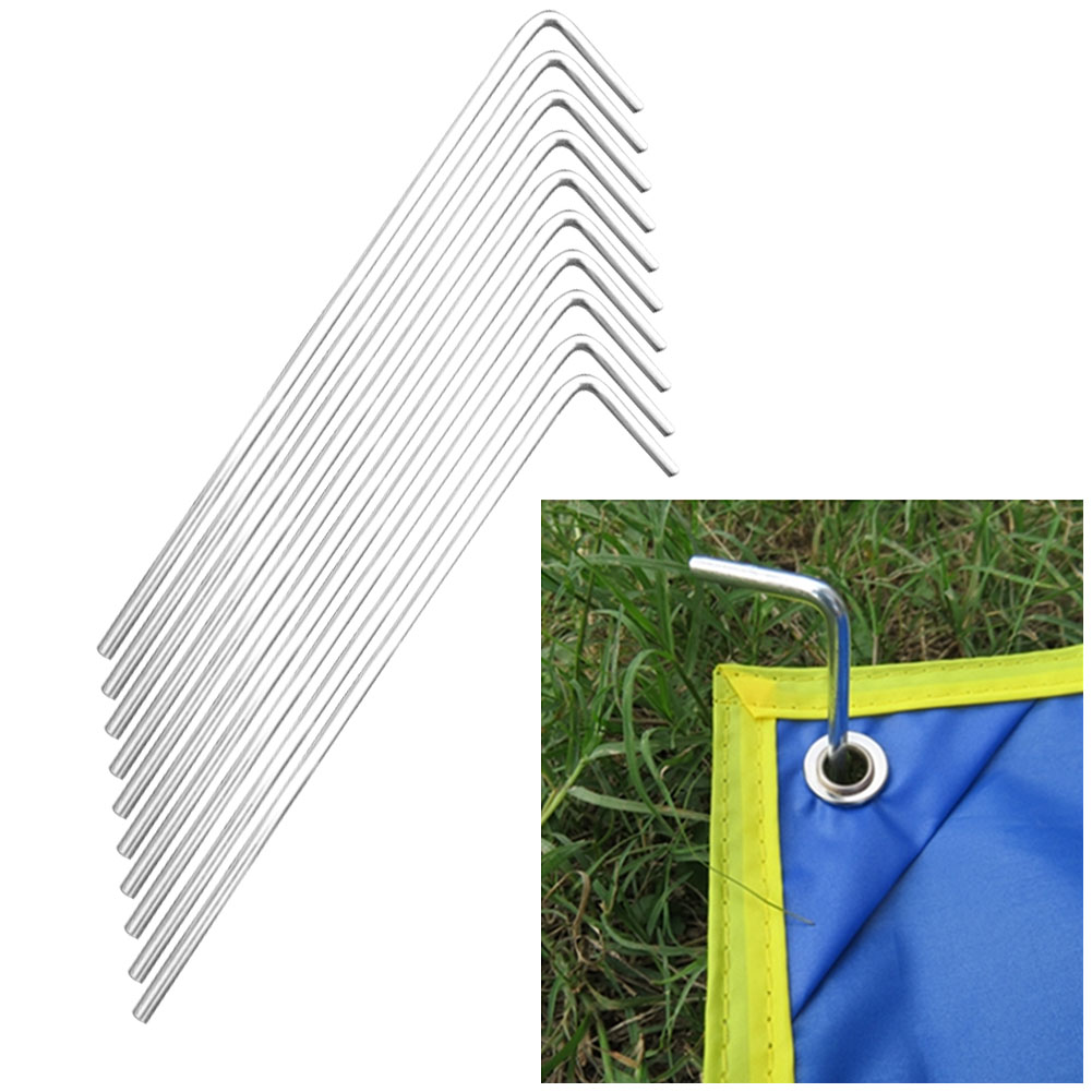 7-shaped Tents Stake Caming Accessories Outdoor Nails Aluminum Tent Pegs