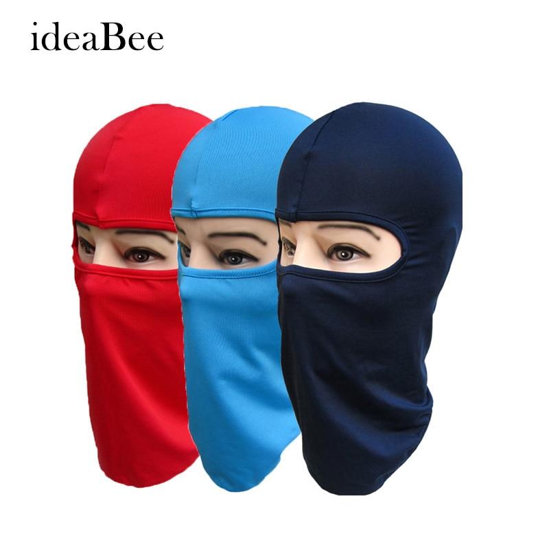 ideacherry Balaclava Mask Windproof Cotton Full Face Neck Guard Masks Headgear Hat Riding Outdoor Sports Cycling Anti-UV Masks