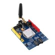 Hohe qualität mit fabrik preis! SIMCOM SIM 900 Modul Quad Band Wireless GSM/GPRS Schild Development Board SIM 900