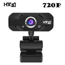 HXSJ S50 USB Web kamera 720P HD 1MP bilgisayar kamera webcam w/dahili ses emici mikrofon 1280*720 dinamik çözünürlük