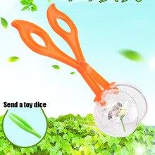 1 stücke Outdoor Spielzeug Pflanzen Insekt Biologie Bildung Kinder Pinzette Set Kunststoff Scissor Clamp Natur Exploration Spielzeug Für Kinder