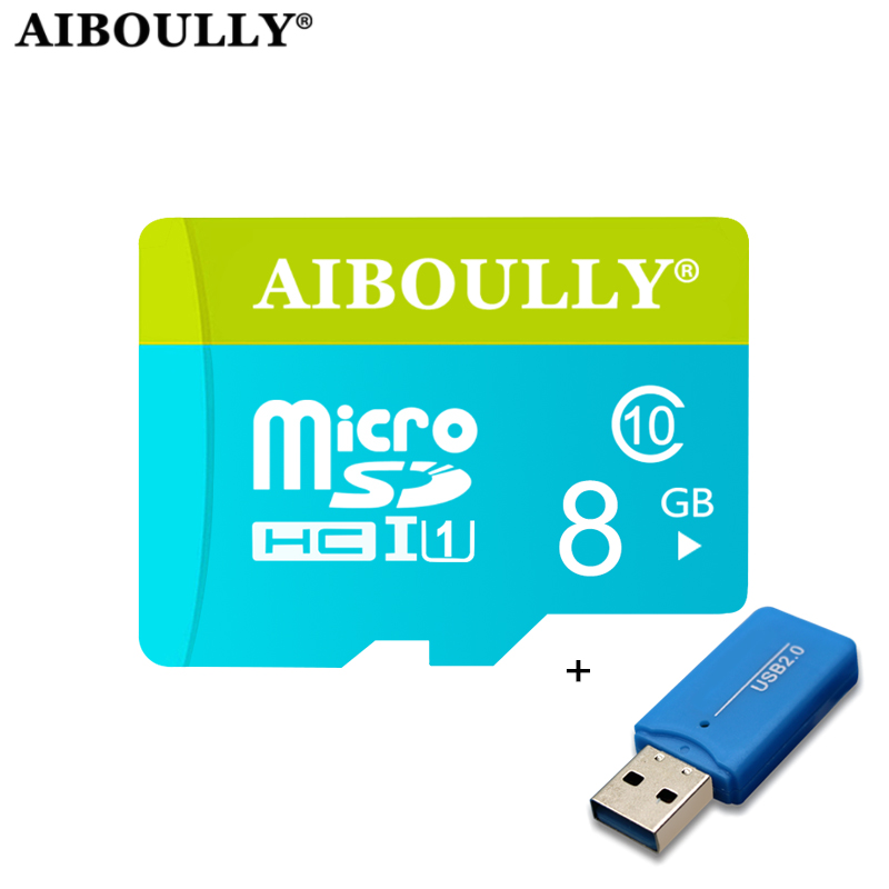 High Speed Flash Microsd 8GB 4GB Memory Card mini TF sd card reader For Mobile Phone Tablet PC