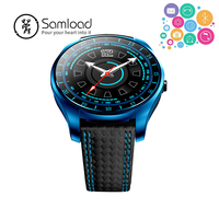 Samload V10 Fashion Bluetooth Smart Watch Real time heart rate Fitness Wirstband Clock Camera for Samsung Android Phone Sim Card