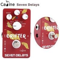 New Caline Guitar Seven Delay Effects Pedal Digital Circuit Design Guitar Parts Accessories